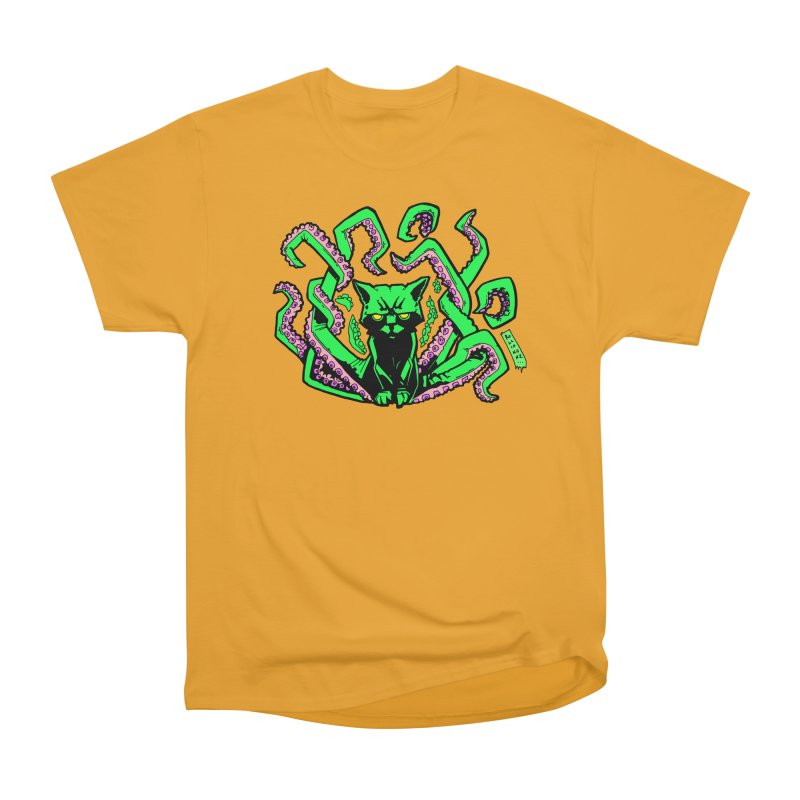 Catthulhu Women's Heavyweight Unisex T-Shirt by