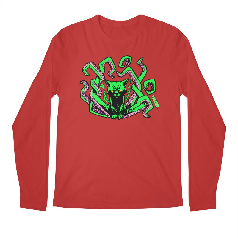 Catthulhu Men's Longsleeve T-Shirt by