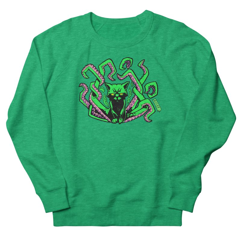 Catthulhu Women's French Terry Sweatshirt by