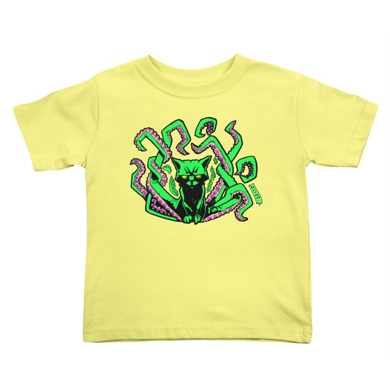 Catthulhu Kids Toddler T-Shirt by