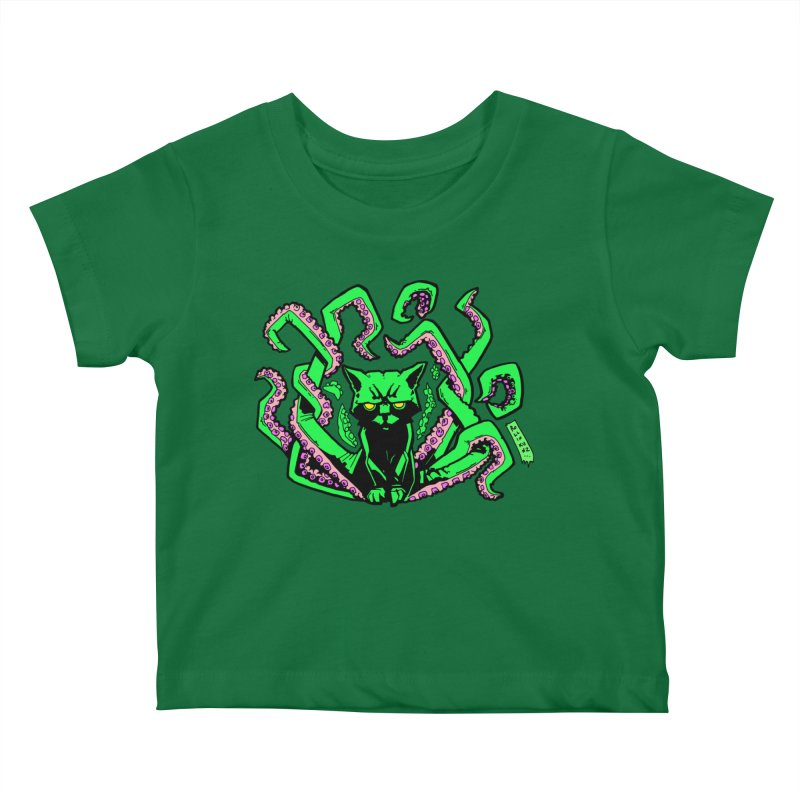 Catthulhu Kids Baby T-Shirt by