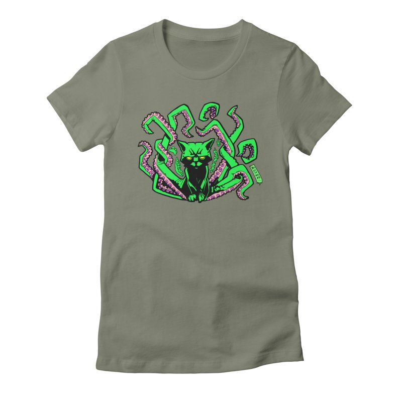 Catthulhu Women's T-Shirt by