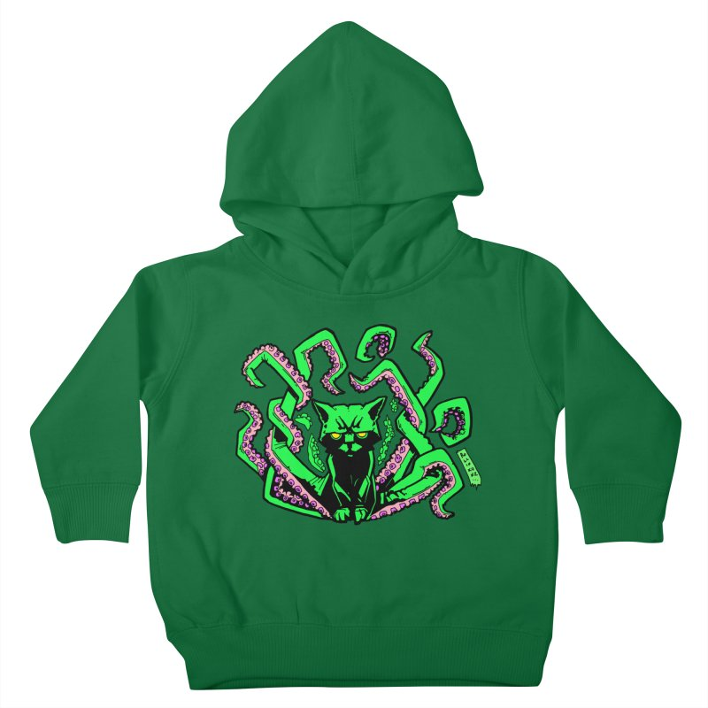 Catthulhu Kids Toddler Pullover Hoody by
