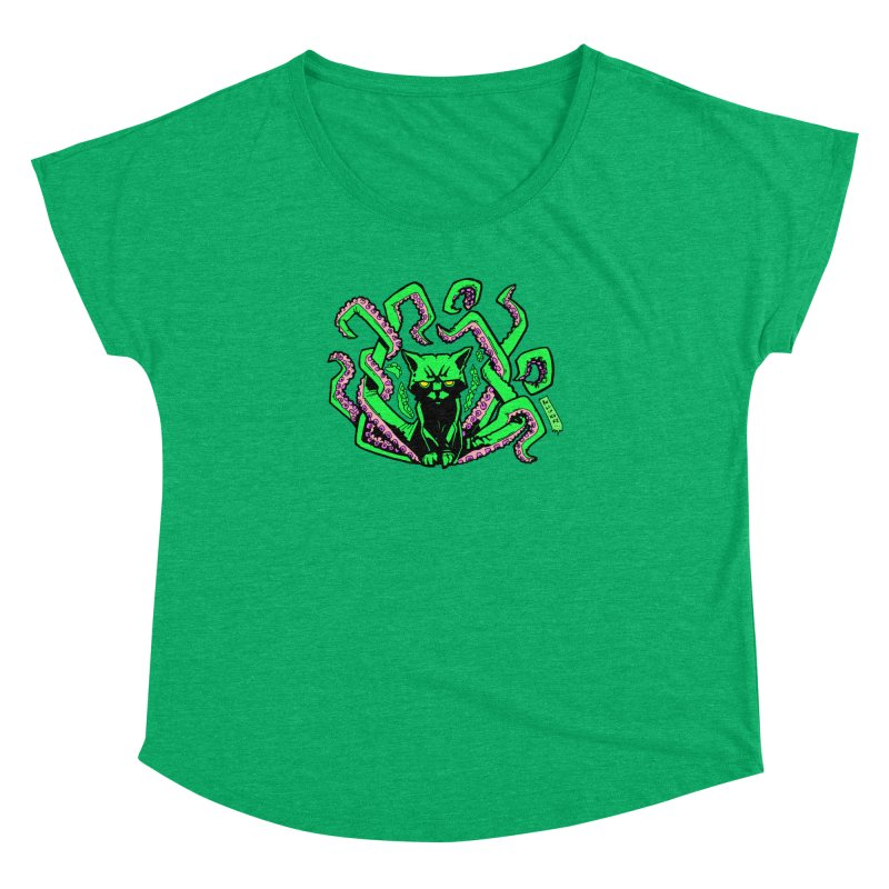 Catthulhu Women's Dolman Scoop Neck by