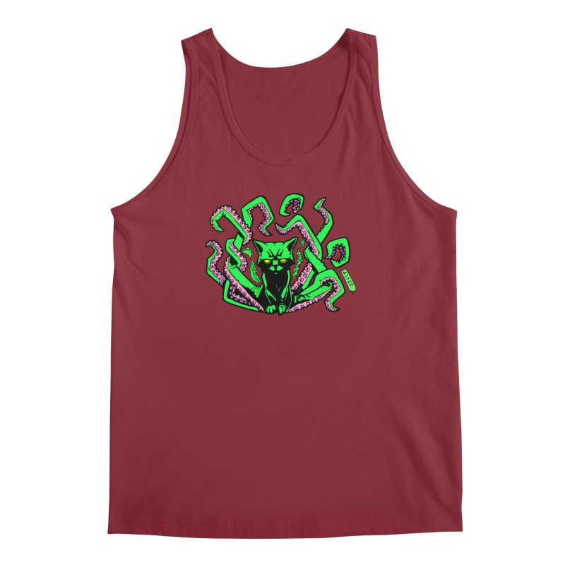Catthulhu Men's Regular Tank by