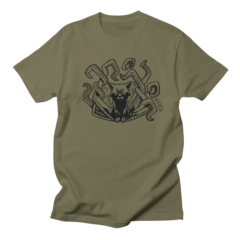 Catthulhu (Uncolored) Women's Regular Unisex T-Shirt by