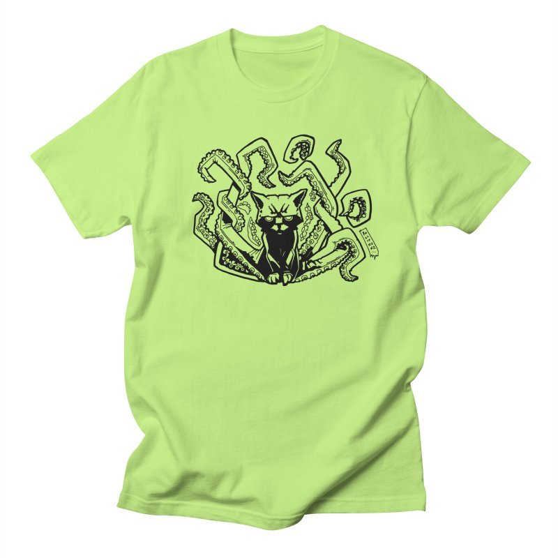 Catthulhu (Uncolored) Men's T-Shirt by
