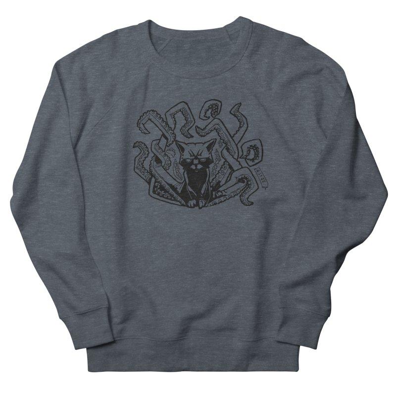 Catthulhu (Uncolored) Women's Sweatshirt by