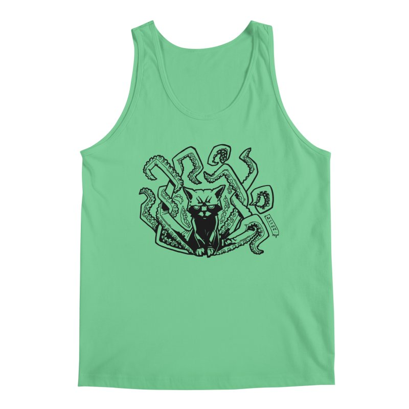 Catthulhu (Uncolored) Men's Tank by
