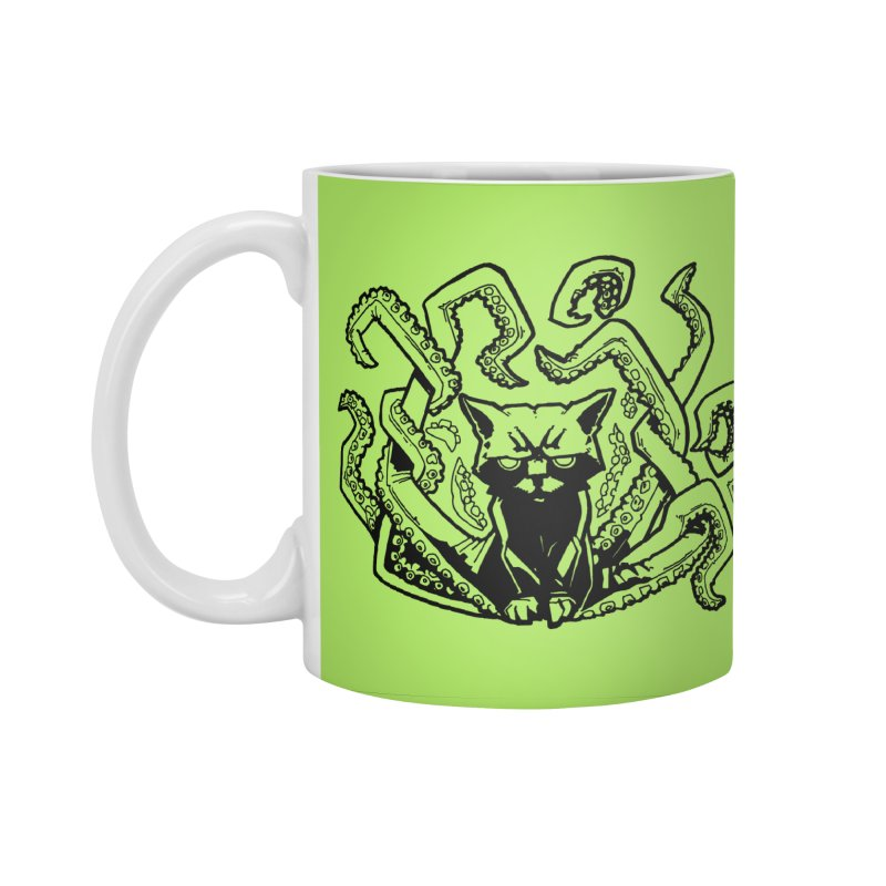 Catthulhu (Uncolored) Accessories Mug by