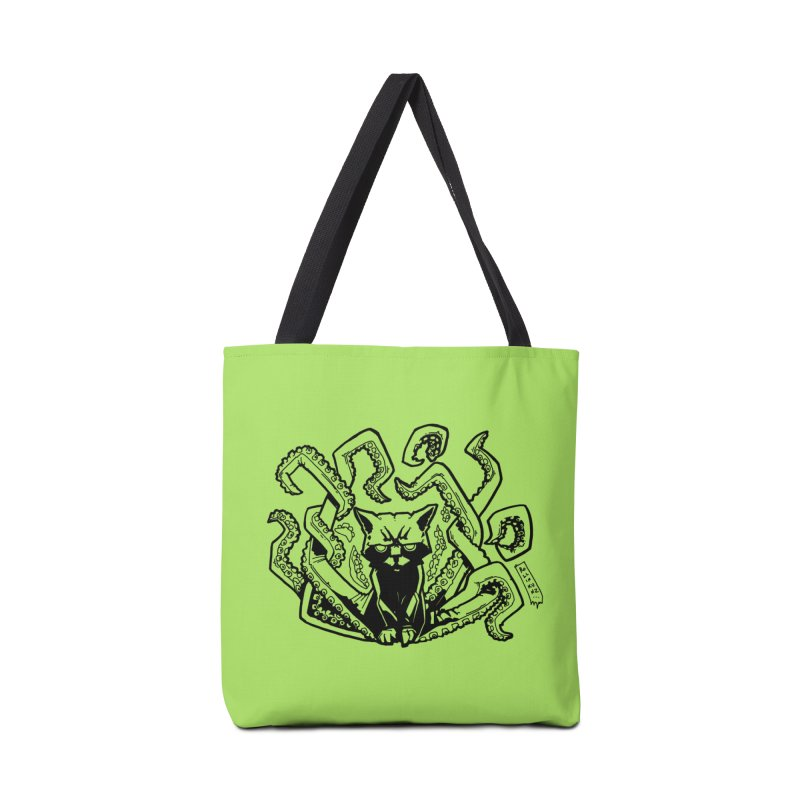 Catthulhu (Uncolored) Accessories Bag by