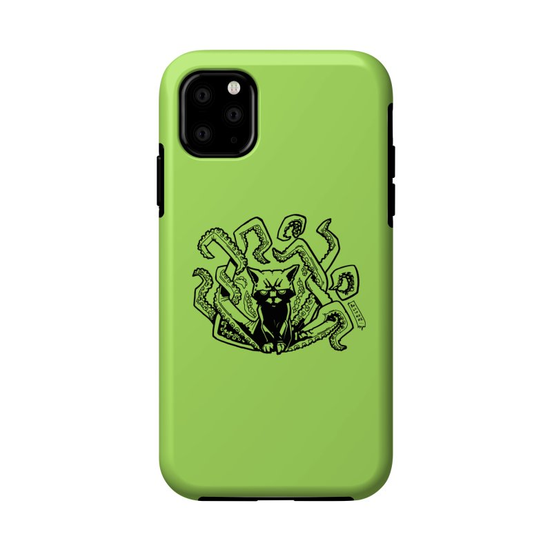 Catthulhu (Uncolored) Accessories Phone Case by