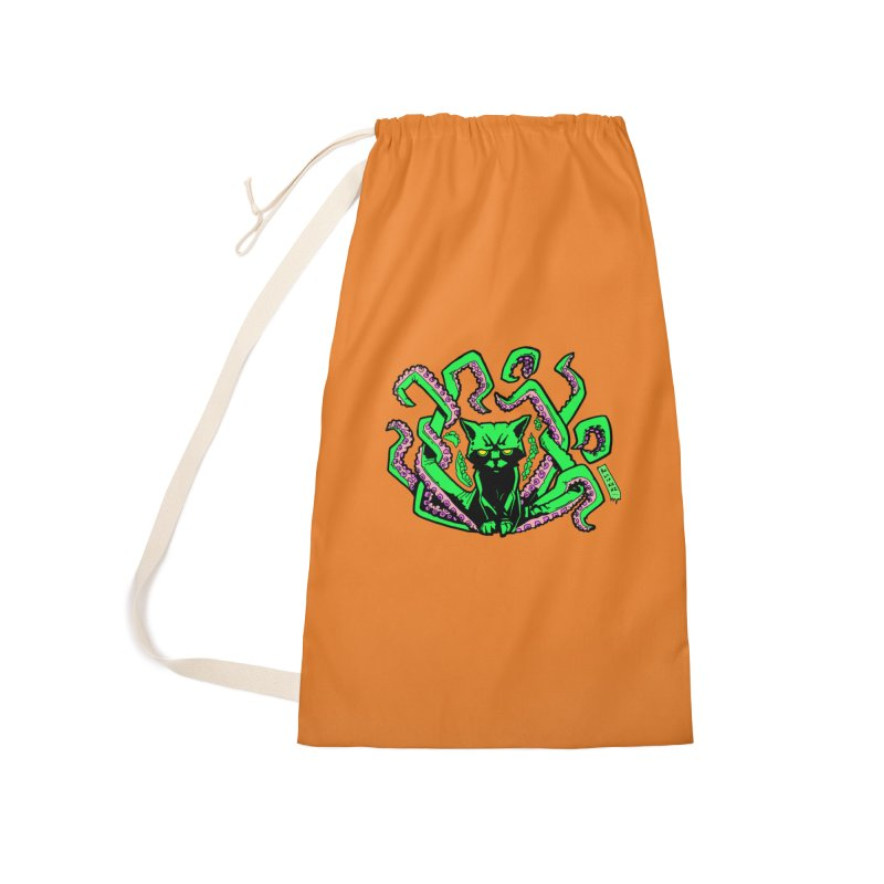 All-New Catthulhu, Now With Orange Accessories Laundry Bag Bag by