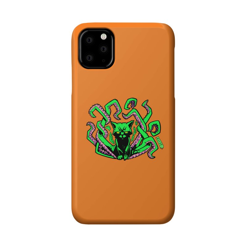 All-New Catthulhu, Now With Orange Accessories Phone Case by