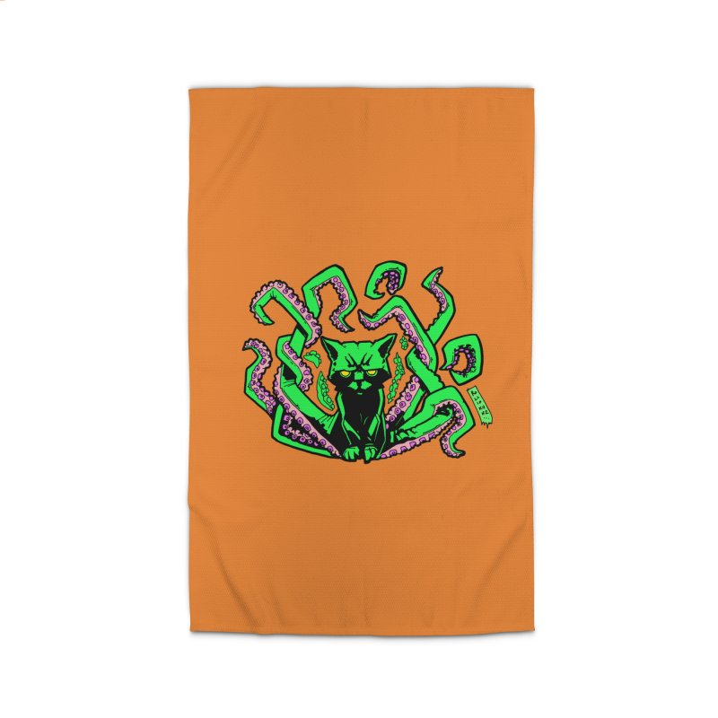 All-New Catthulhu, Now With Orange Home Rug by