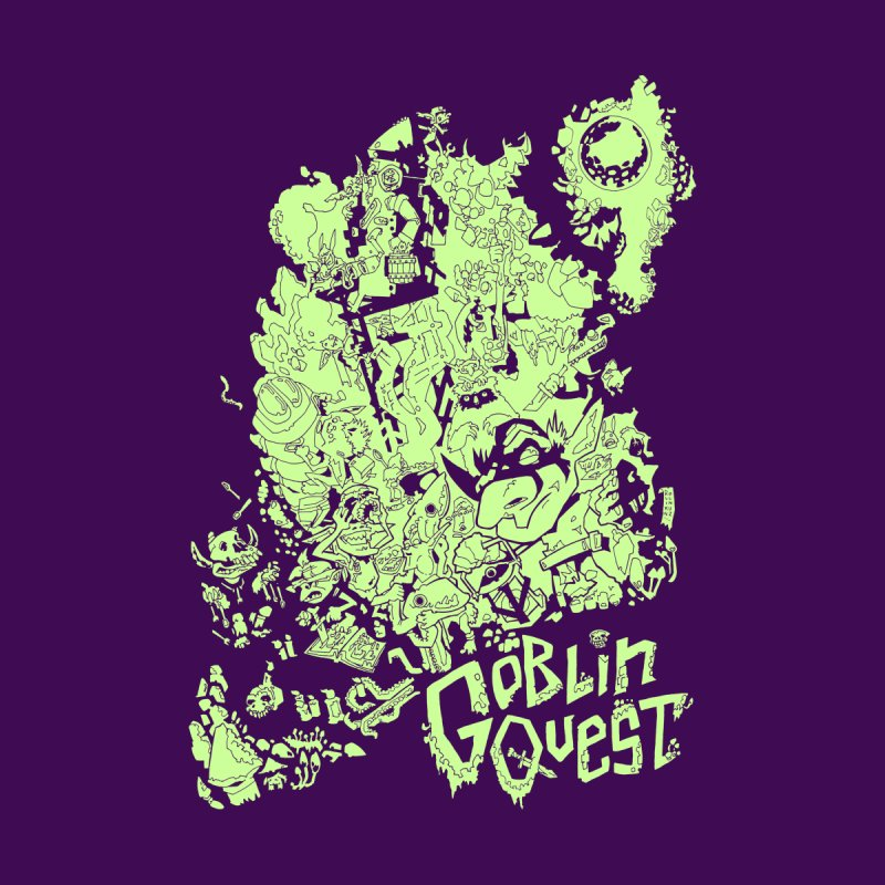 Goblin Quest - Greenie Meanie Home Tapestry by