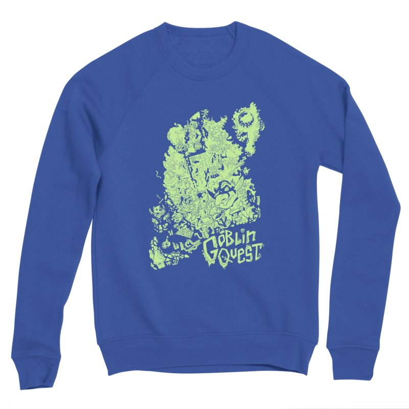 Goblin Quest - Greenie Meanie Women's Sweatshirt by