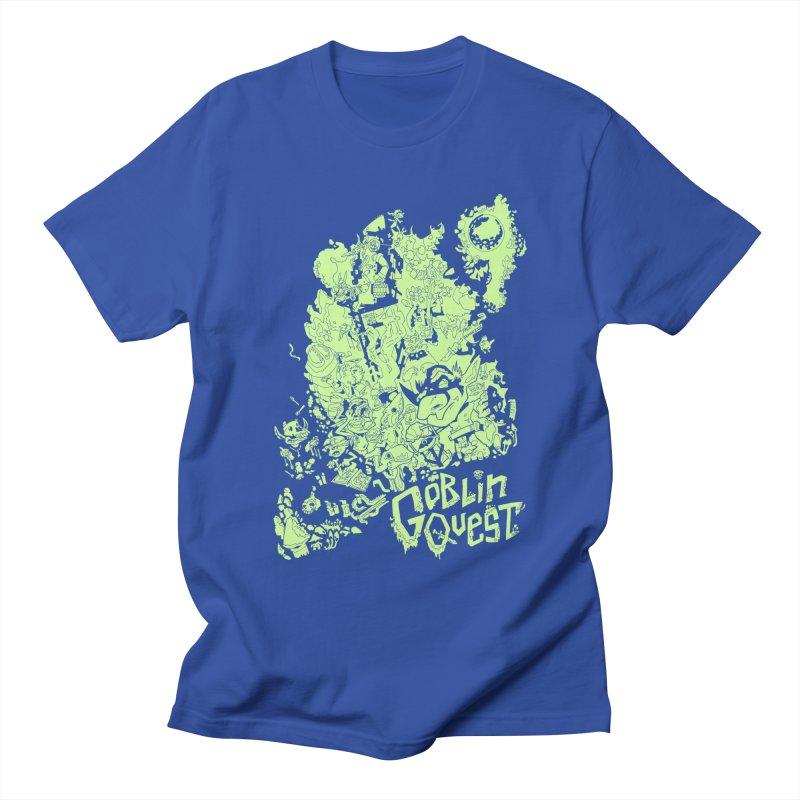 Goblin Quest - Greenie Meanie Men's T-Shirt by