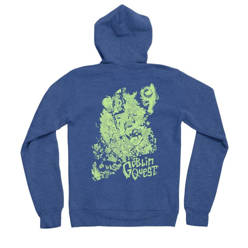 Goblin Quest - Greenie Meanie Women's Zip-Up Hoody by
