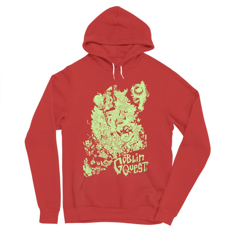 Goblin Quest - Greenie Meanie Men's Pullover Hoody by