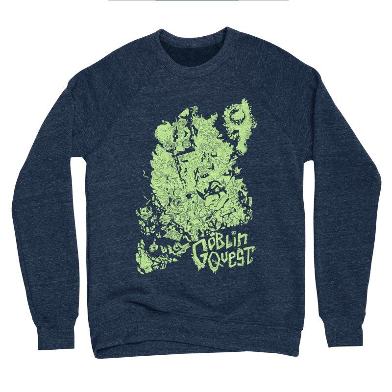 Goblin Quest - Greenie Meanie Women's Sponge Fleece Sweatshirt by