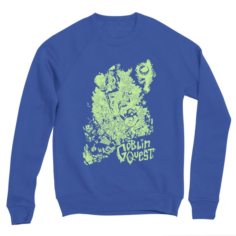 Goblin Quest - Greenie Meanie Men's Sweatshirt by