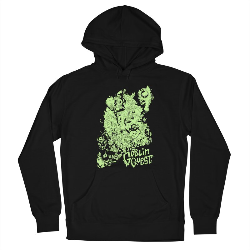 Goblin Quest - Greenie Meanie Men's Pullover Hoody by