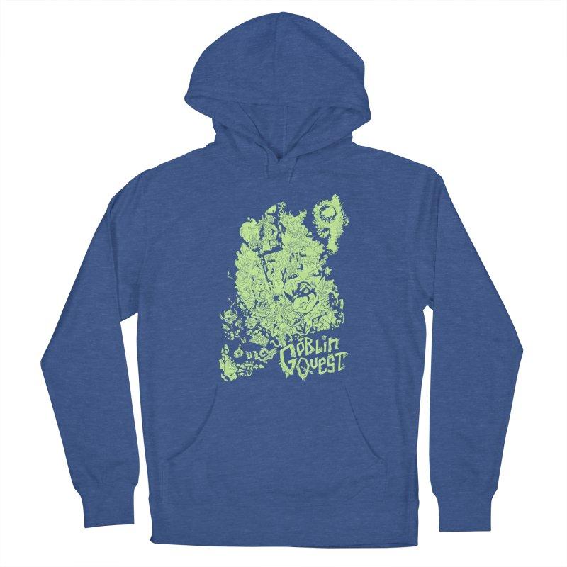 Goblin Quest - Greenie Meanie Women's Pullover Hoody by