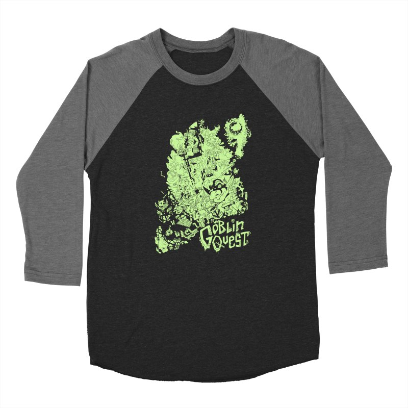 Goblin Quest - Greenie Meanie Women's Baseball Triblend Longsleeve T-Shirt by