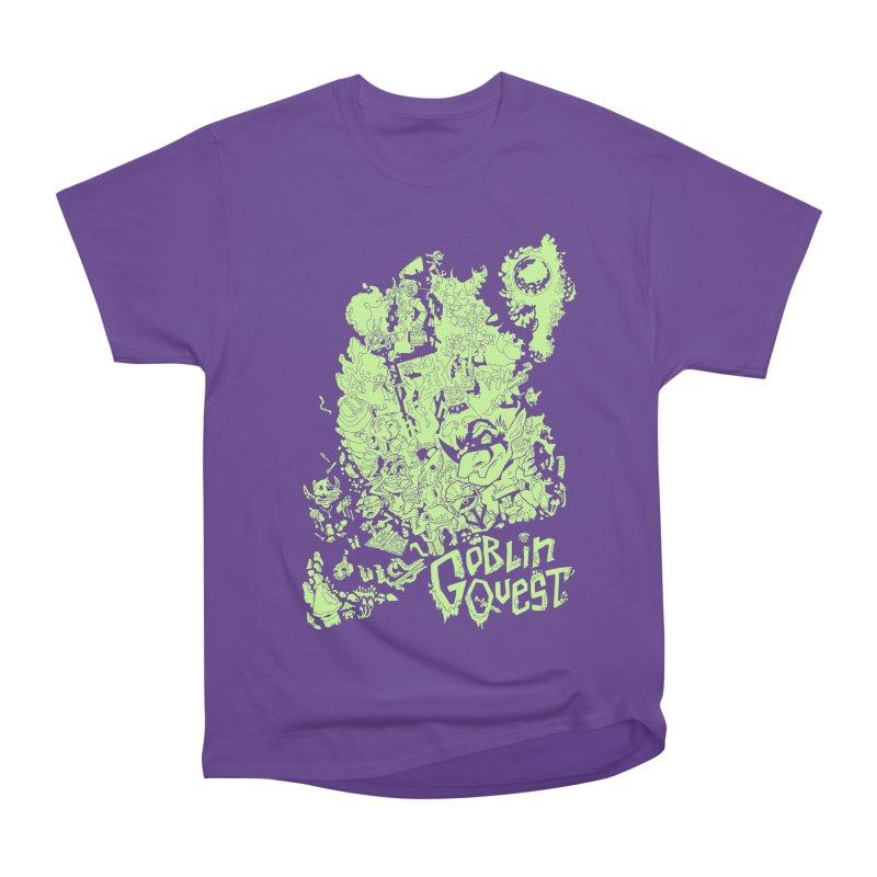 Goblin Quest - Greenie Meanie Women's Heavyweight Unisex T-Shirt by