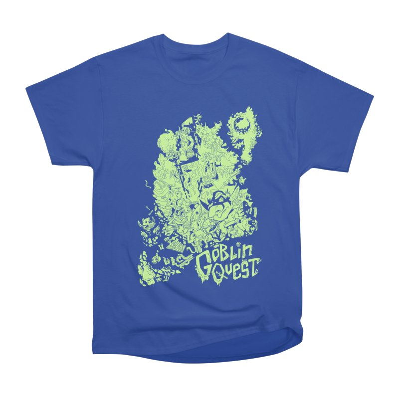 Goblin Quest - Greenie Meanie Men's T-Shirt by