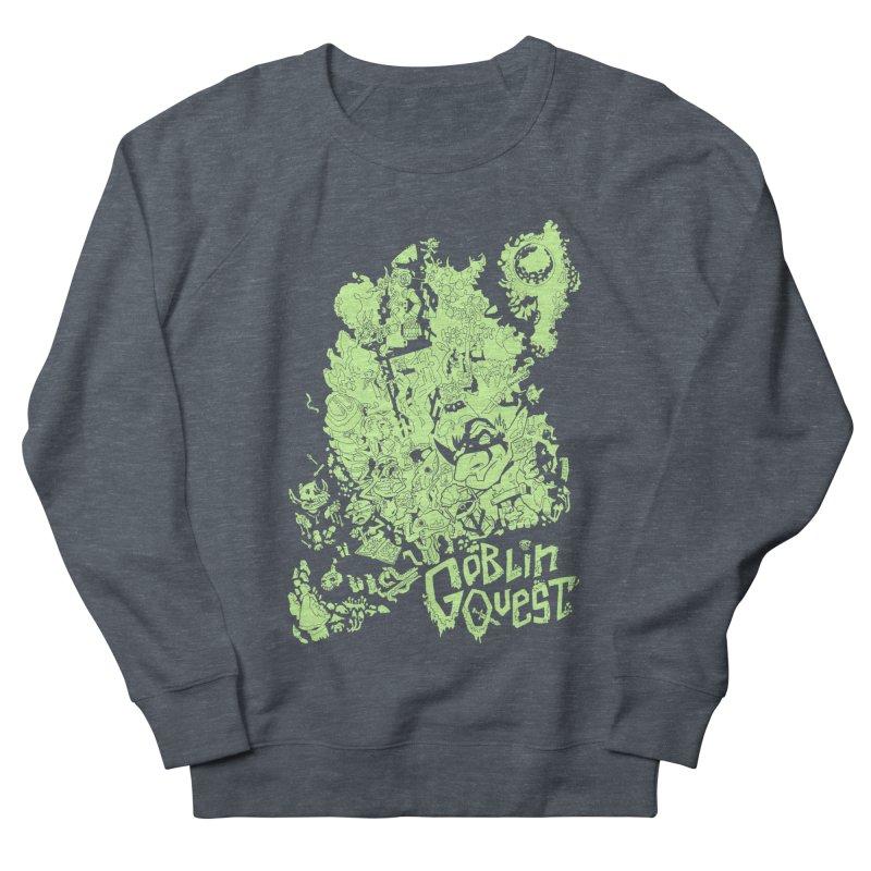 Goblin Quest - Greenie Meanie Women's French Terry Sweatshirt by