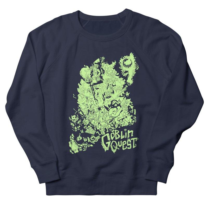 Goblin Quest - Greenie Meanie Women's Sweatshirt by