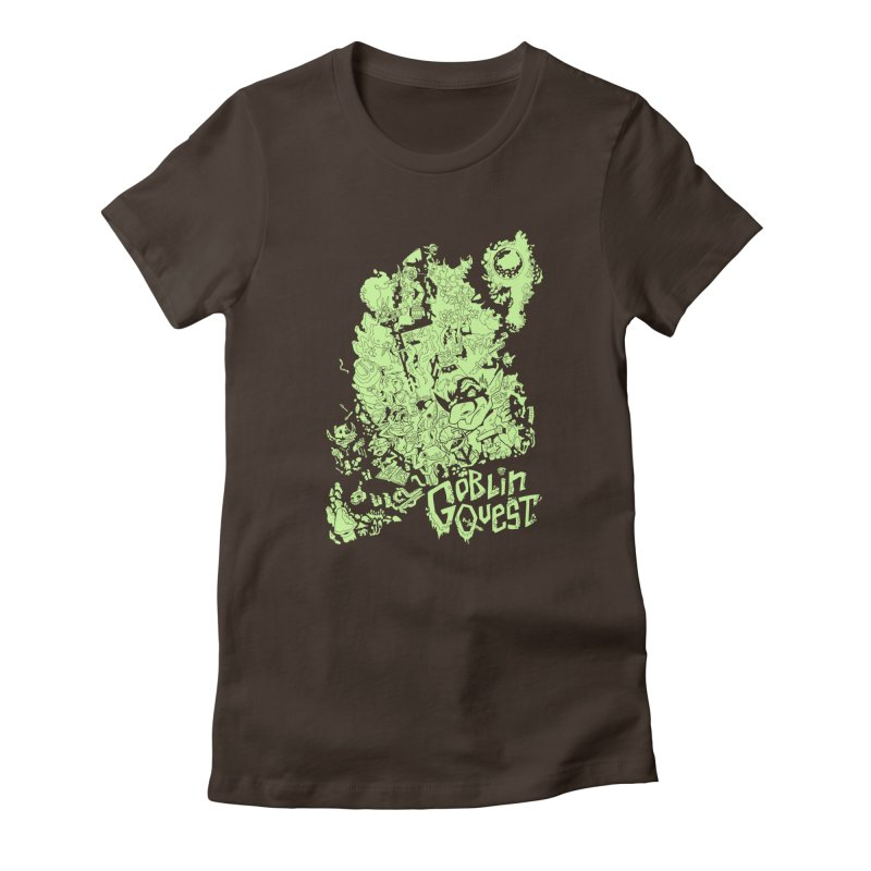 Goblin Quest - Greenie Meanie Women's T-Shirt by