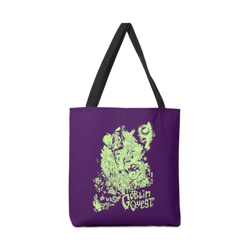 Goblin Quest - Greenie Meanie Accessories Tote Bag Bag by