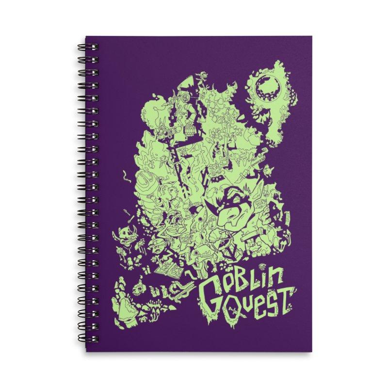 Goblin Quest - Greenie Meanie Accessories Notebook by