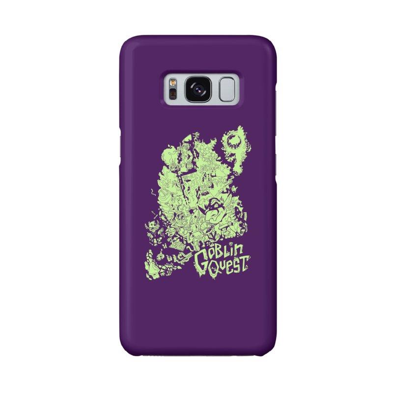 Goblin Quest - Greenie Meanie Accessories Phone Case by