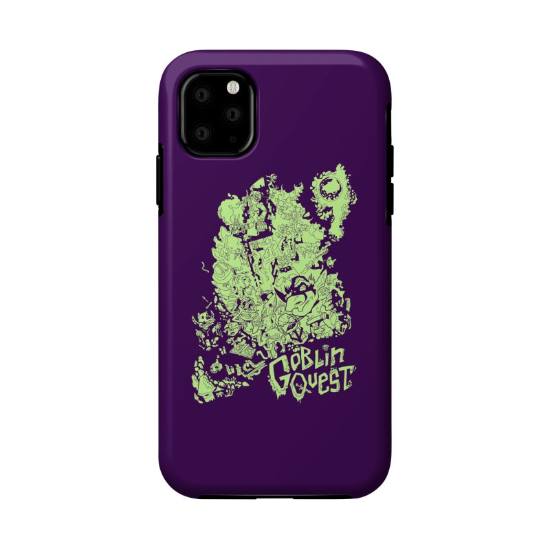 Goblin Quest - Greenie Meanie Accessories Phone Case by