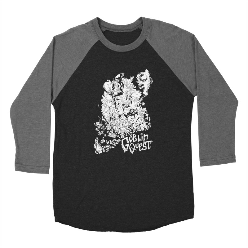 Goblin Quest - Black and white Men's Longsleeve T-Shirt by