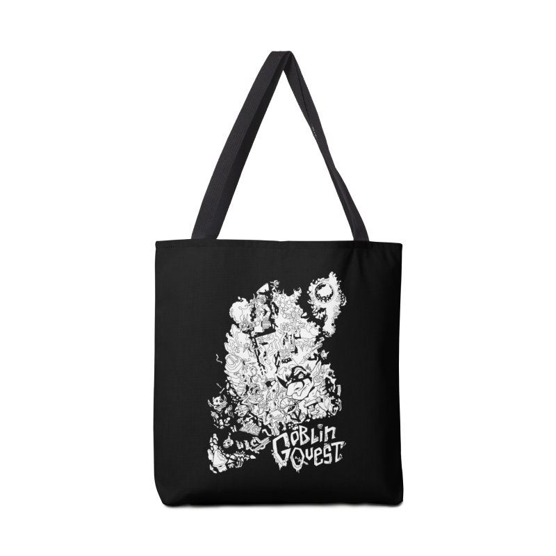 Goblin Quest - Black and white Accessories Tote Bag Bag by