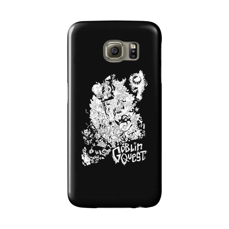 Goblin Quest - Black and white Accessories Phone Case by