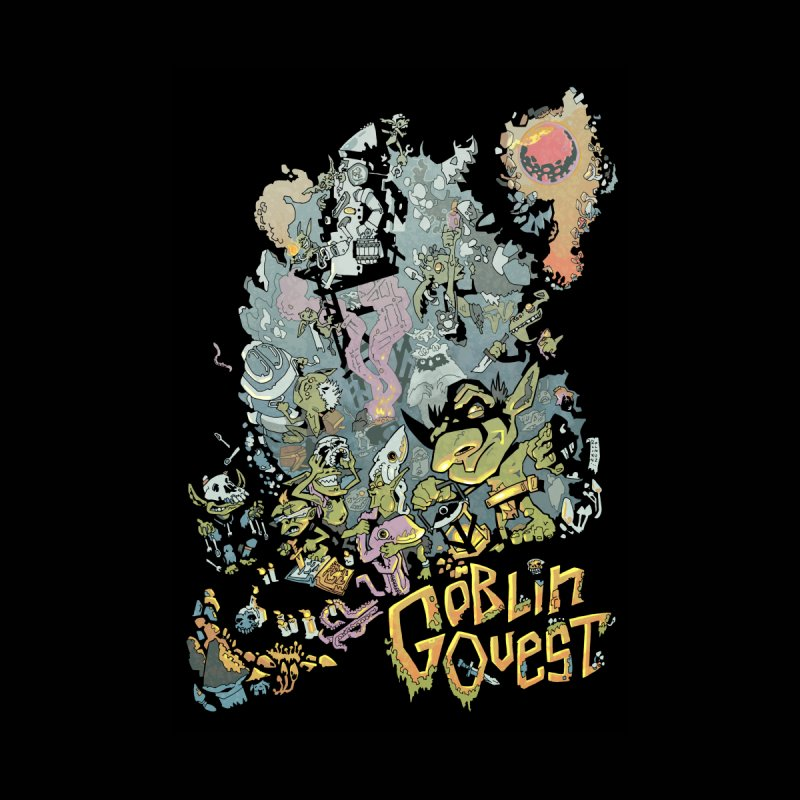 Goblin Quest - Full Color Madness Home Blanket by