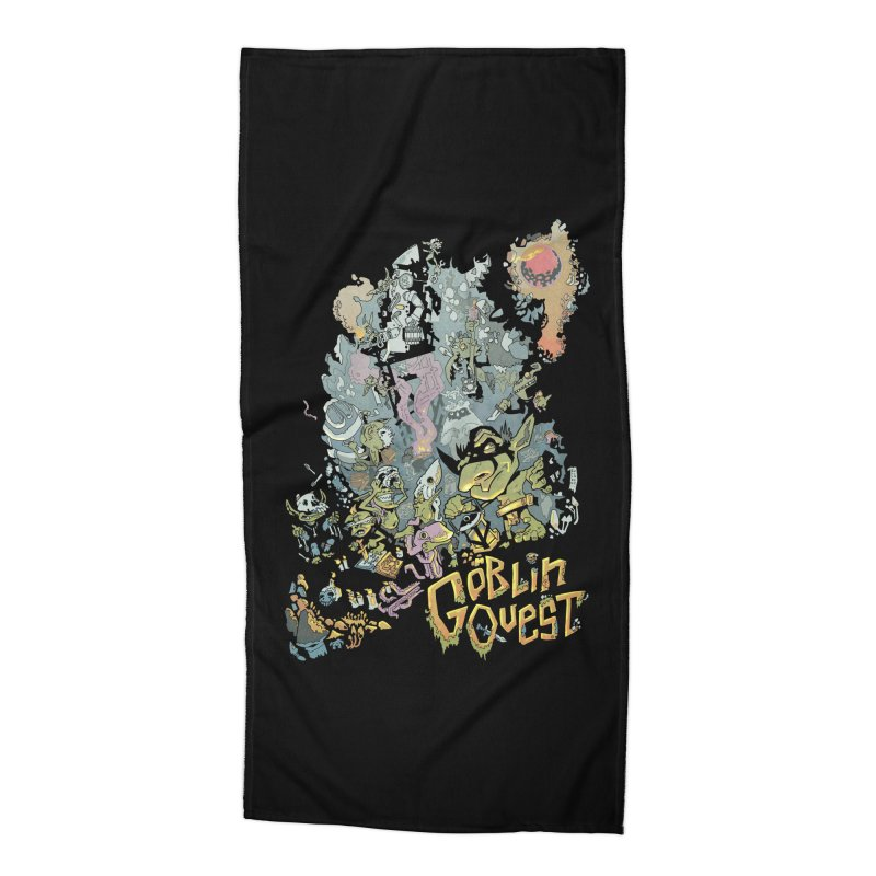 Goblin Quest - Full Color Madness Accessories Beach Towel by