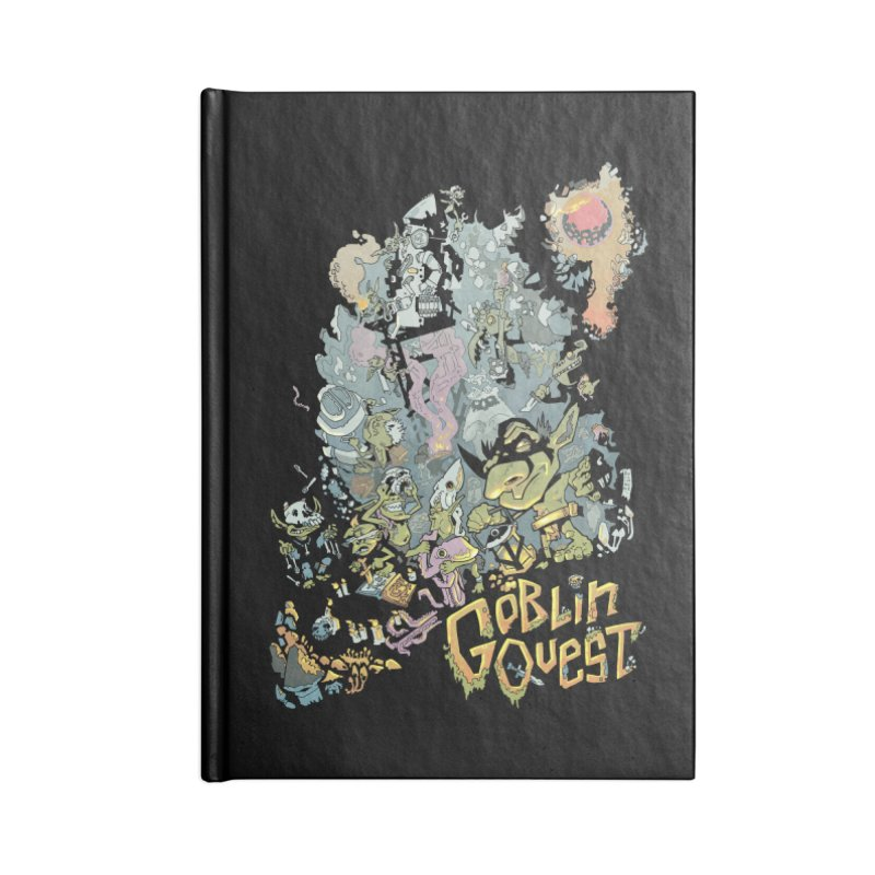Goblin Quest - Full Color Madness Accessories Lined Journal Notebook by