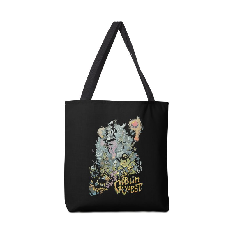 Goblin Quest - Full Color Madness Accessories Tote Bag Bag by