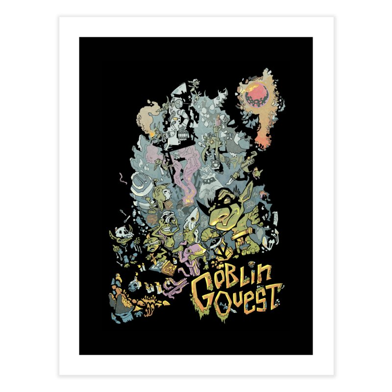Goblin Quest - Full Color Madness Home Fine Art Print by