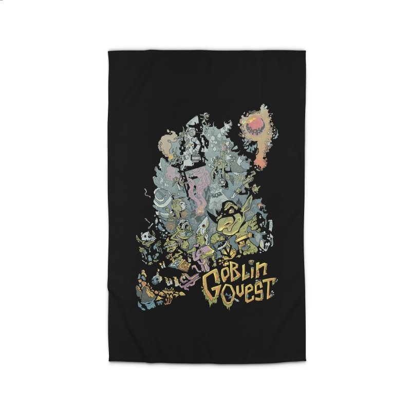 Goblin Quest - Full Color Madness Home Rug by