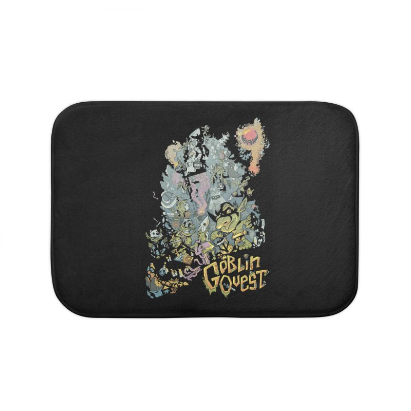Goblin Quest - Full Color Madness Home Bath Mat by