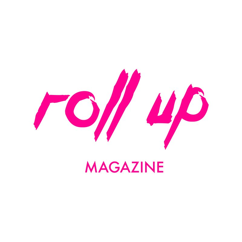 ROLL UP MAGENTA LOGO mini Men's T-Shirt by ROLL UP MAGAZINE
