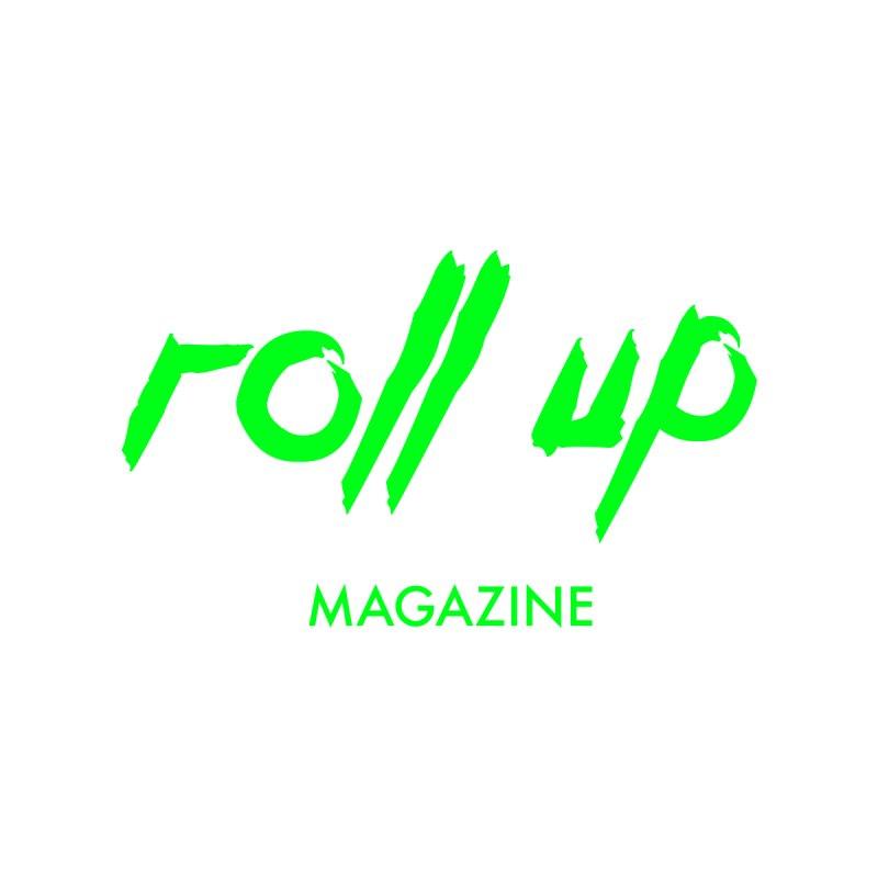 ROLL UP GREEN LOGO mini Men's T-Shirt by ROLL UP MAGAZINE